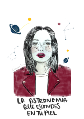 La astronomía de tu piel
